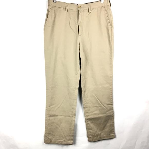 Nautica Other - Nautica Men's Khaki Pants Flat Front 32 x 30